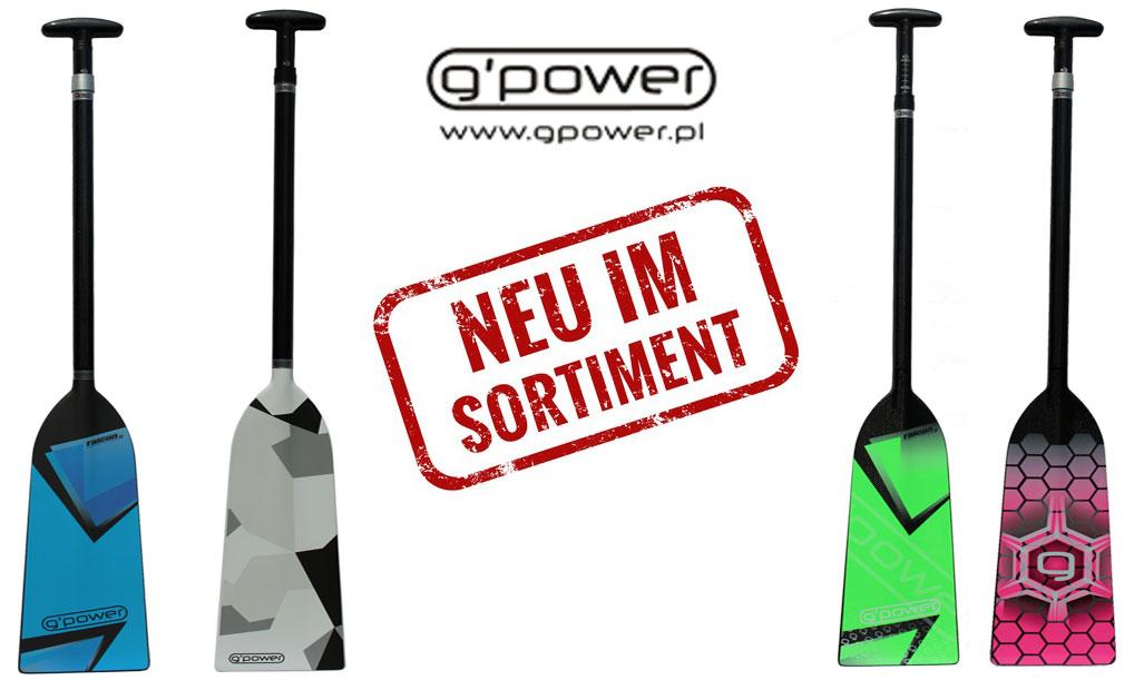 G'POWER Neue Designs!