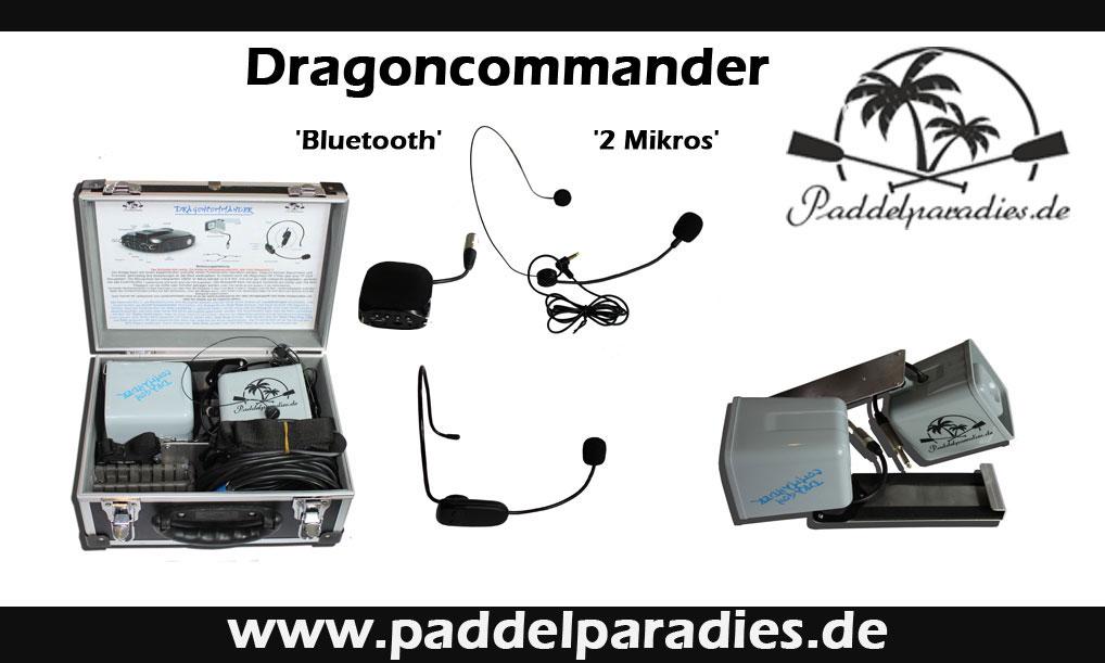 Sprechanlage Dragoncommander Paddelparadies